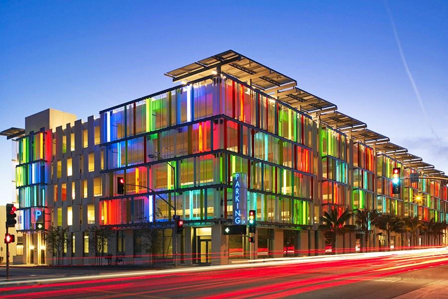 Cristales de colores en la arquitectura y hogar - Cristales de colores para mesas ...