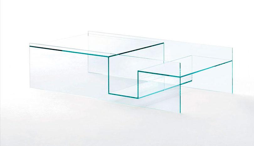 Mesas de centro de cristal son simples y bellas mazoti for Mesas de centro bonitas
